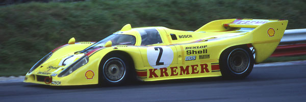 Kremer Porsche 917K81 Flying Tigers 1000kms Brands Hatch 1981